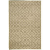 Safavieh Couture Hand-Knotted Contemporary Fawn Wool Rug - 6' x 9'