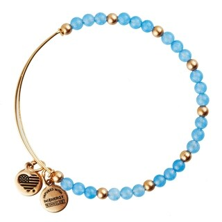 Alex and Ani Hydrangea Bangle - Blue