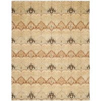 Safavieh Couture Hand-Knotted Asian Fushion Modern Multi Wool Rug - 8' x 10'
