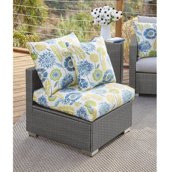 Shop Handy Living Aldrich Grey Resin Rattan Outdoor