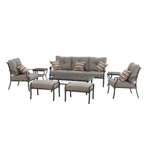 Roosevelt Transitional 8 Piece Outdoor Patio Set