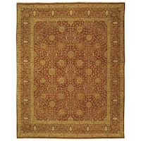 Safavieh Couture Hand-Knotted Haj Jalili Traditional Rust Wool Rug - 8' x 10'