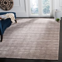 Safavieh Couture Hand-Knotted Kensington Contemporary Camel Wool & Viscose Rug (8' x 10')