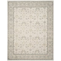 Safavieh Couture Hand-Knotted Oushak Traditional Silver Wool Rug (8' x 10')