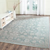 Safavieh Couture Hand-Knotted Peshawar Traditional Grey / Ivory Wool Rug (8' x 10')