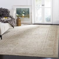Safavieh Couture Hand-Knotted Sultanabad Traditional Beige / Brown Wool Rug - 8' x 10'