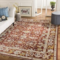 Safavieh Couture Hand-Knotted Sultanabad Traditional Rust Wool Rug - 8' x 10'