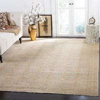 Safavieh Couture Hand-Knotted Sultanabad Traditional Beige Wool Rug - 8' x 10'