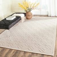 Safavieh Couture Hand-Knotted Tibetan Contemporary Pearl Viscose & Wool Rug - 8' x 10'