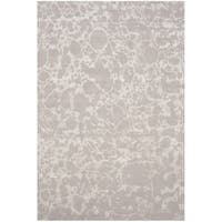 Safavieh Couture Hand-Knotted Tibetan Contemporary Silver Wool & Cotton Rug - 8' x 10'