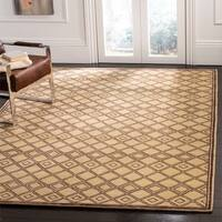 Safavieh Couture Hand-Knotted Contemporary Henna Wool Rug (8' x 10')