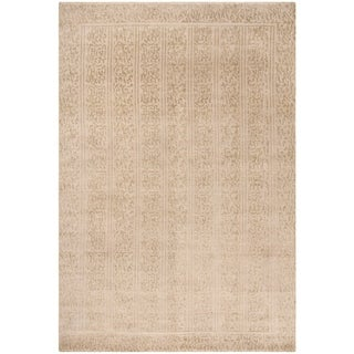 Safavieh Couture Transitional Gold Silk Rug - 8' x 10'