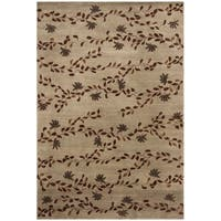 Safavieh Couture  Transitional Multi Colored Silk Rug - 8' x 10'