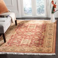 Safavieh Couture Handmade Versailles Traditional Multi Colored Wool Rug - 8' x 10'