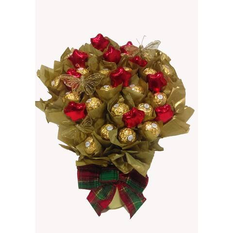 Chocolate Stars Ferreo Rocher Chocolate Bouquet