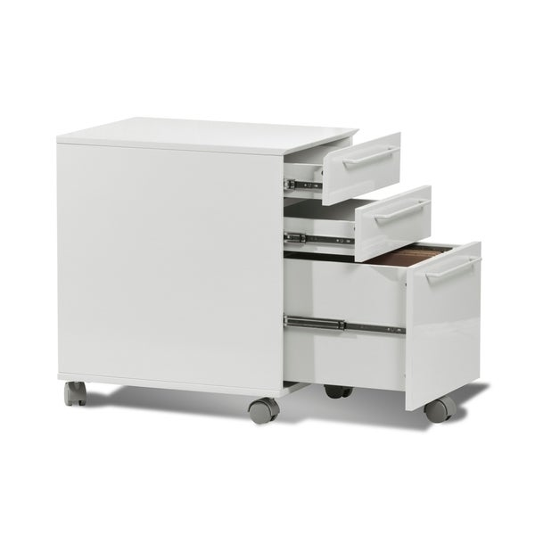 3 Drawer Mobile File Cabinet, Mobile Pedestal
