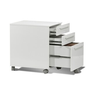3-drawer Mobile File Cabinet, Mobile Pedestal