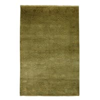 Safavieh Couture Hand-Knotted Jewel Of India Vintage Light Green / Light Green Silk & Wool Rug - 9' x 12'