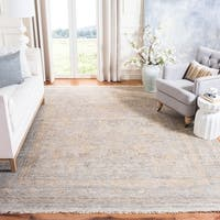 Safavieh Couture Hand-Knotted Sultanabad Traditional Ivory Wool Rug - 9' x 12'