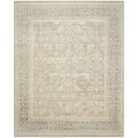 Safavieh Couture Hand-Knotted Sultanabad Traditional Grey Wool Rug - 9' x 12'