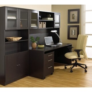 Premium Pro Executive Office Desk and Bookcase