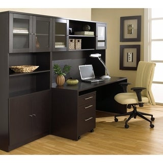 Premium Pro Home Office With Bookcase