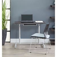 Ergo Sit - Stand Height Adjustable Standing Desk With Shelf
