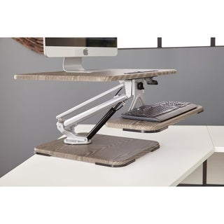 Ergonomic Height Adjustable Desk Riser