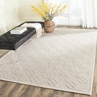 Safavieh Couture Hand-Knotted Tibetan Contemporary Pearl Viscose & Wool Rug - 9' X 12'