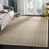 Safavieh Couture Hand-Knotted Tibetan Contemporary Mint Wool & Cotton Rug - 9' x 12'
