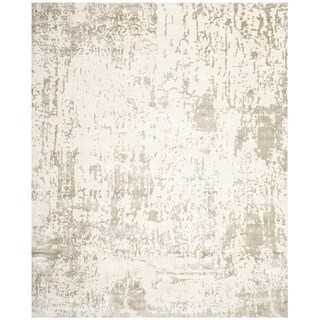 Safavieh Couture Hand-knotted Tibetan Luxandra Modern Hand-spun Wool Rug