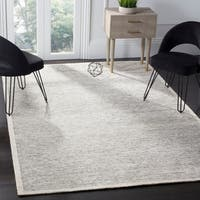 Safavieh Couture Hand-Spun Tibetan Contemporary Ivory Rayon & Wool Rug - 9' x 12'