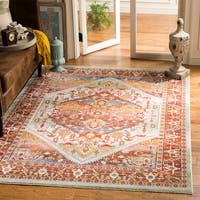 Safavieh Sutton Boho Medallion Rust/ Multi Area Rug - 9' x 13'