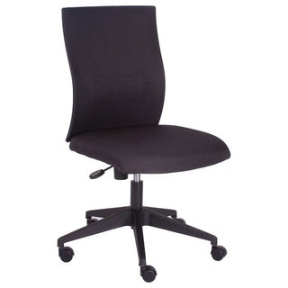 Charlotte Ergonomic Armless Height Adjustable Office Chair