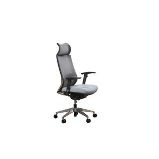 Bordeaux Grey Mesh High Back Executive Chair