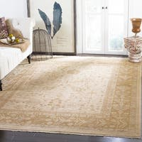 Safavieh Couture Hand-Knotted Sultanabad Traditional Beige Wool Rug - 10' x 14'