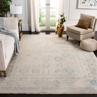 Safavieh Couture Hand-knotted Sultanabad Shlomit Traditional Oriental Wool Rug with Fringe
