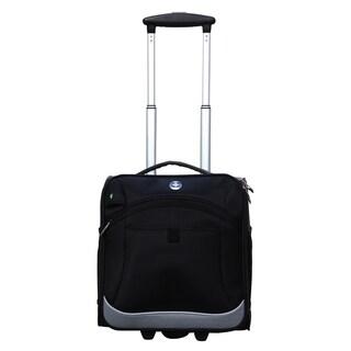 """Swissdigital 14"""" Basel Black Tote Luggage Underseater"""