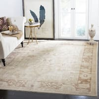 Safavieh Couture Hand-Knotted Sultanabad Traditional Beige / Brown Wool Rug - 10' x 14'