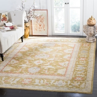 Safavieh Couture Hand-knotted Sultanabad Tjadine Traditional Oriental Wool Rug
