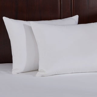 St. James Home Natural Memory Foam Goose Feather Pillow (Set of 2) - White (2 options available)
