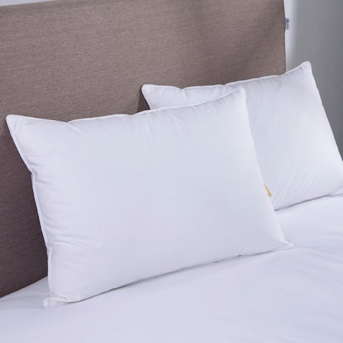St. James Home White Goose Down Blend Pillow (Set of 2)