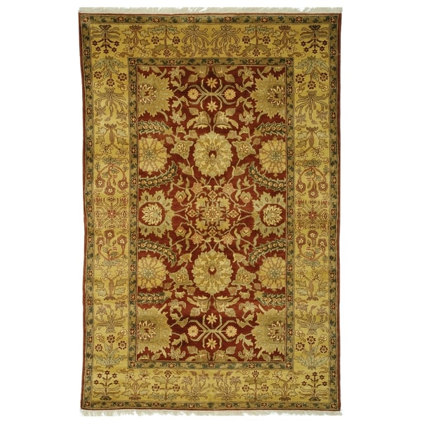 Safavieh Handmade Zeigler Mahal Traditional Multi Colored Wool Rug Orted 12 X27