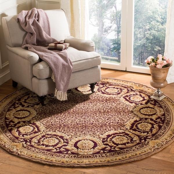 Safavieh Handmade Florence Traditional Multi Colored Wool Rug - 6' x 6' Round