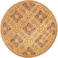 Safavieh Handmade Florence Traditional Multi Colored Wool Rug - 6' x 6' Round