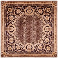 Safavieh Handmade Florence Modern & Contemporary Multi Colored Wool Rug - 6' x 6' Round