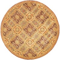 Safavieh Handmade Florence Traditional Multi Colored Wool Rug - 8' x 8' Round