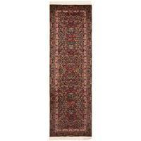 "Safavieh Couture Handmade Royal Kerman Traditional Multi Colored Wool Rug - 2'6"" x 6'"