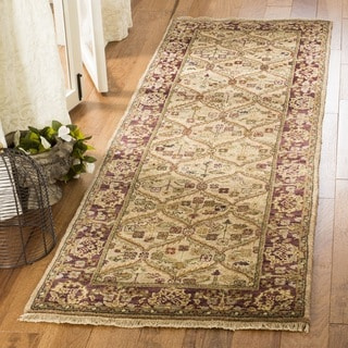 Safavieh Couture Hand-knotted Old World Panoraia Traditional Oriental Wool Rug with Fringe