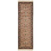 Safavieh Couture Hand-Knotted Royal Kerman Traditional Multi Wool Rug - 2'6' x 22'